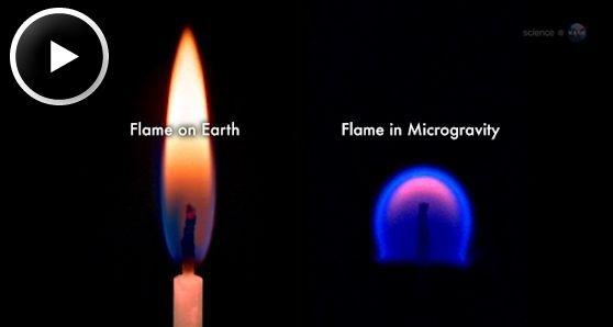 Огонь на МКС