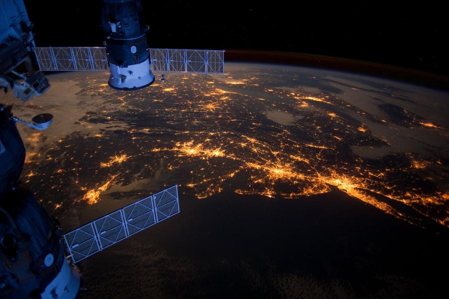 Праздничный снимок от НАСА