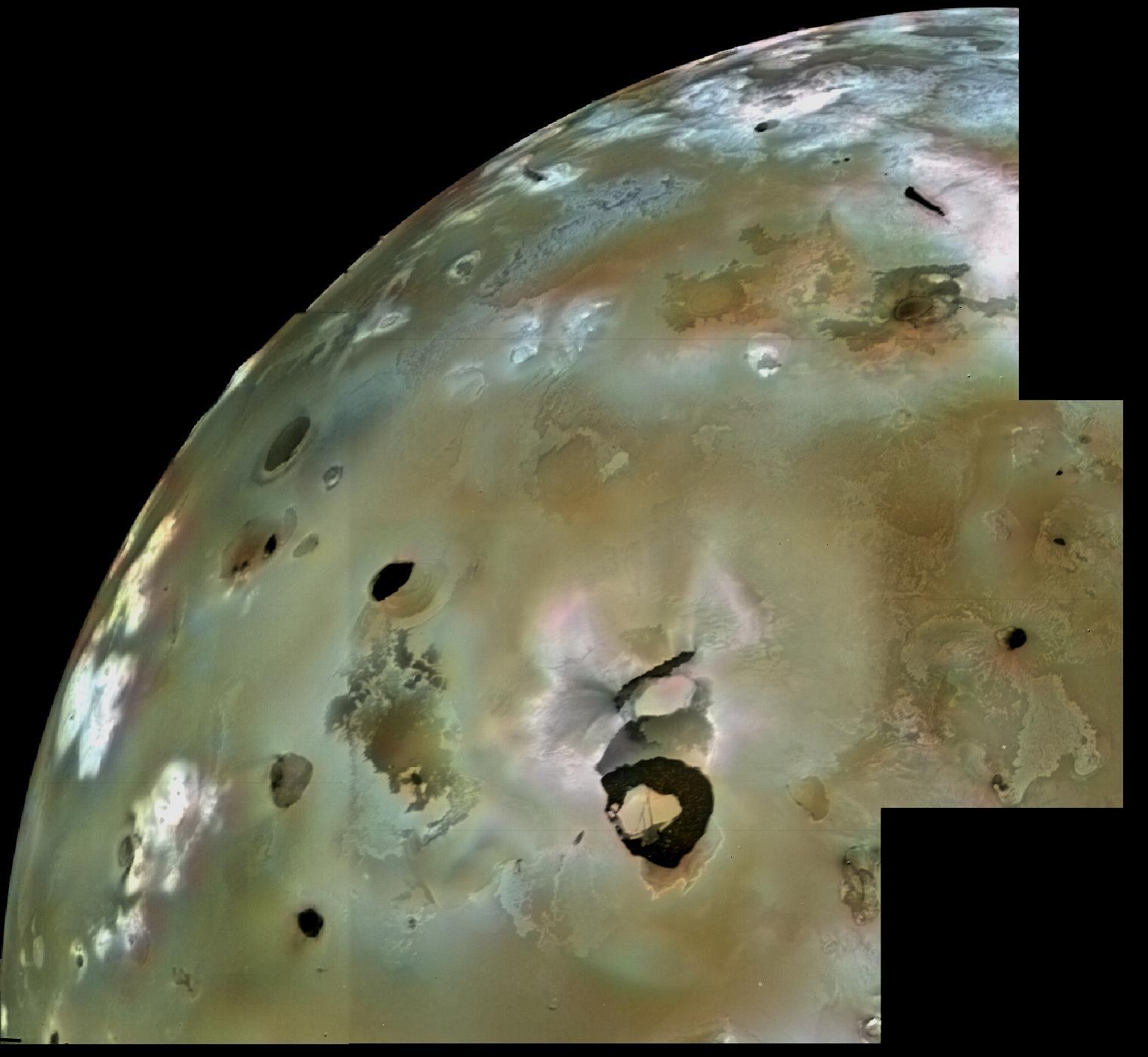 Извержения наспутнике Ионе повинуются модели— Ученые