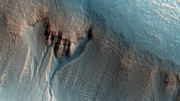 Ученые обнаружили наМарсе внушительное море
