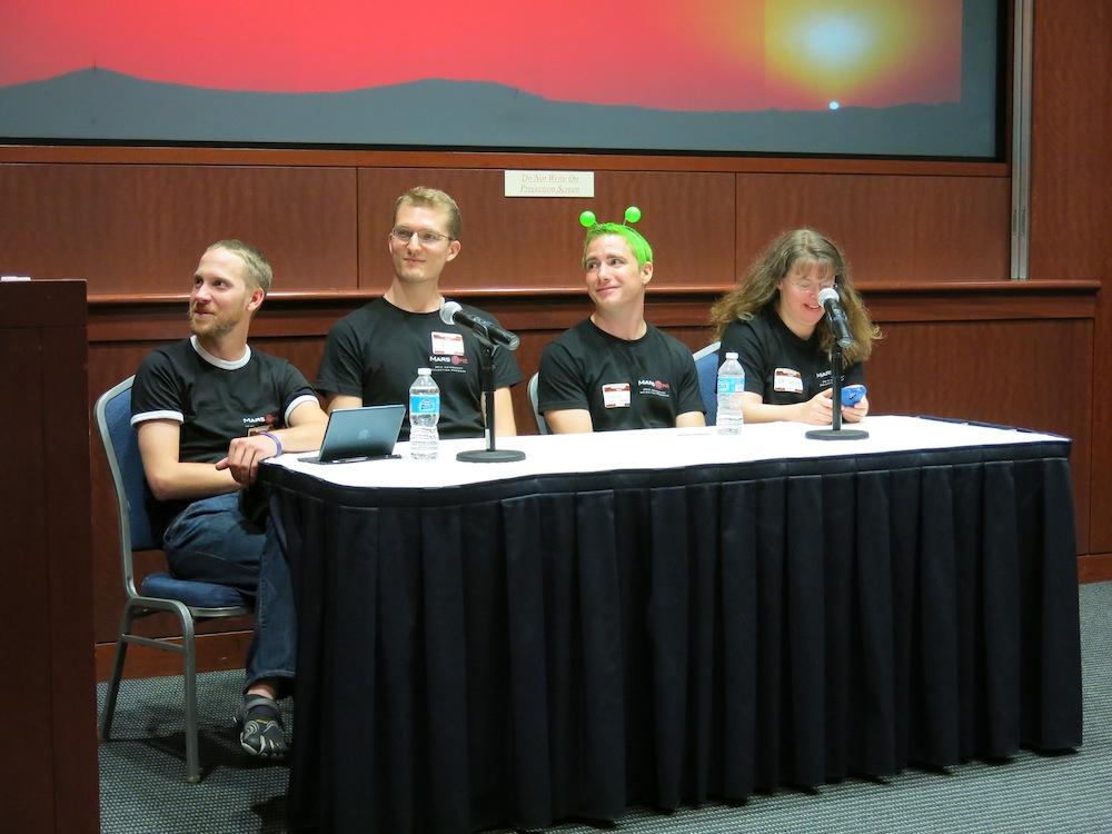 В субботу в Вашингтоне прошла встреча Mars One
