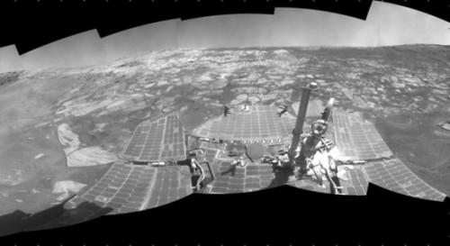 Оппортьюнити рассказывает о найденных доказательствах присутствия ветра и воды на Марсе