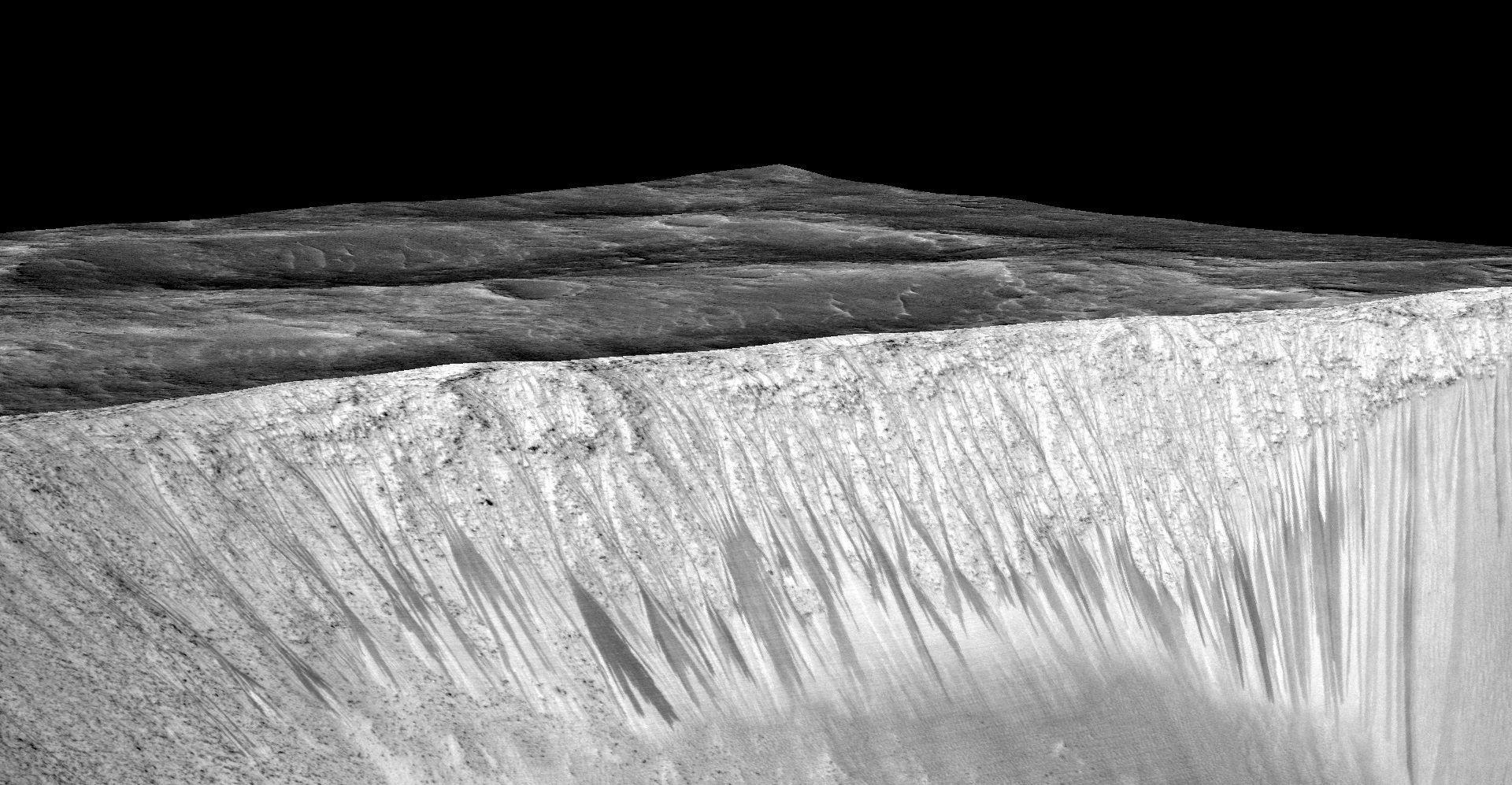 Ученые усомнились вналичии жидкой воды наМарсе