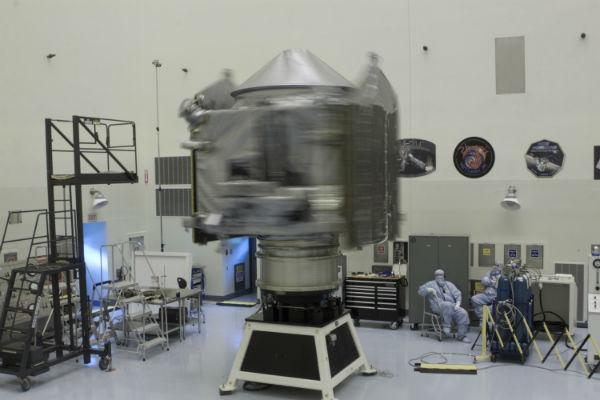 Спутник MAVEN на низком старте