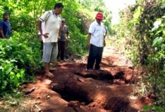 В Мексике на Землю упал странный объект