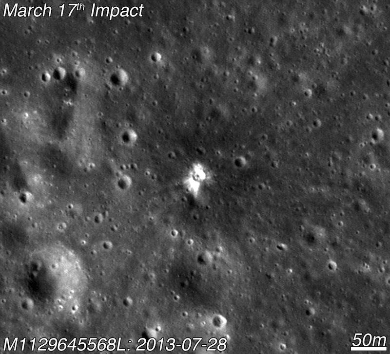 На Луне открыт новый кратер