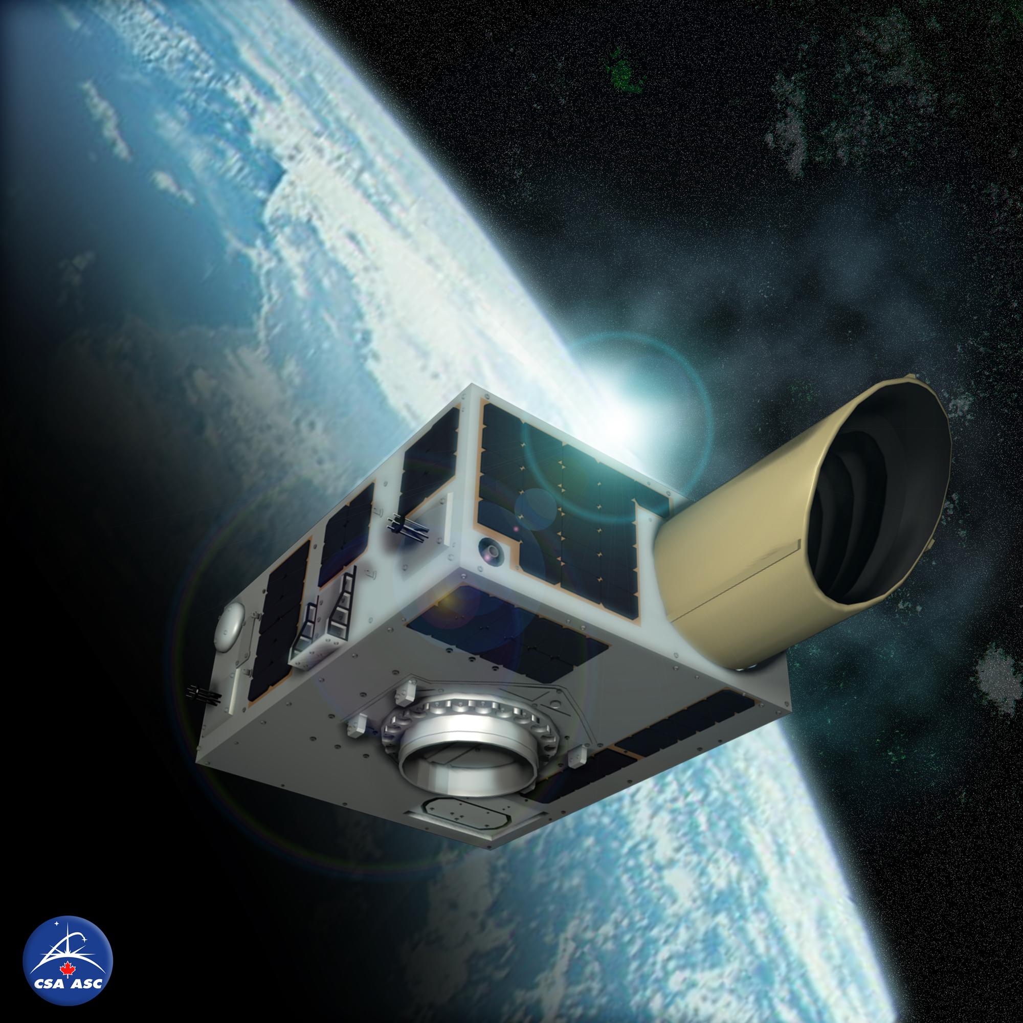 Канада запускает спутник NEOSSat для охоты за астероидами