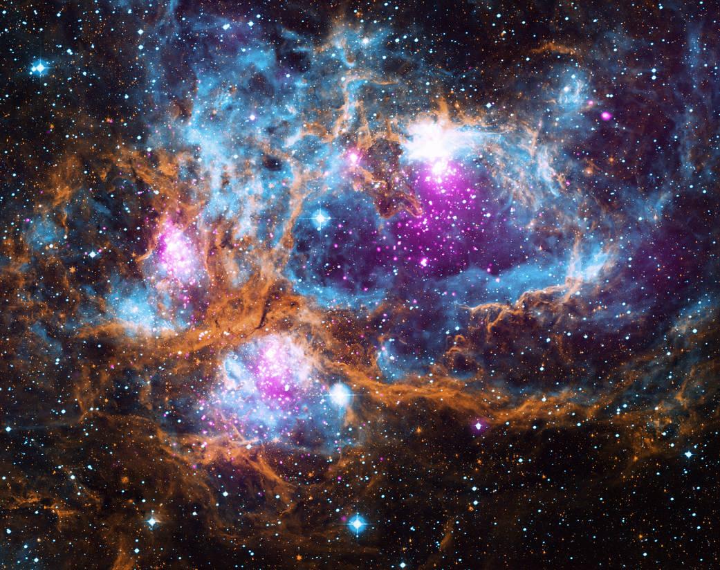 Подарок под елку: астрономы «скинулись» накосмическую зиму. Получилось красиво
