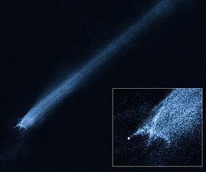 Откуда у астероида хвост?