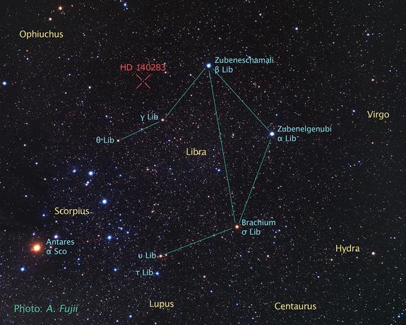 Древнейшая звезда старше самой Вселенной