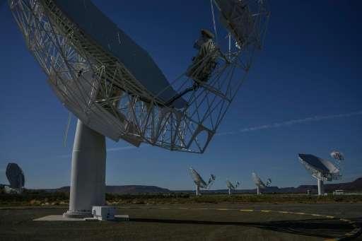 Телескоп Meerkat открыл тысячи новых галактик