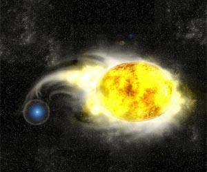 Причиной взрыва сверхновой стал желтый сверхгигант