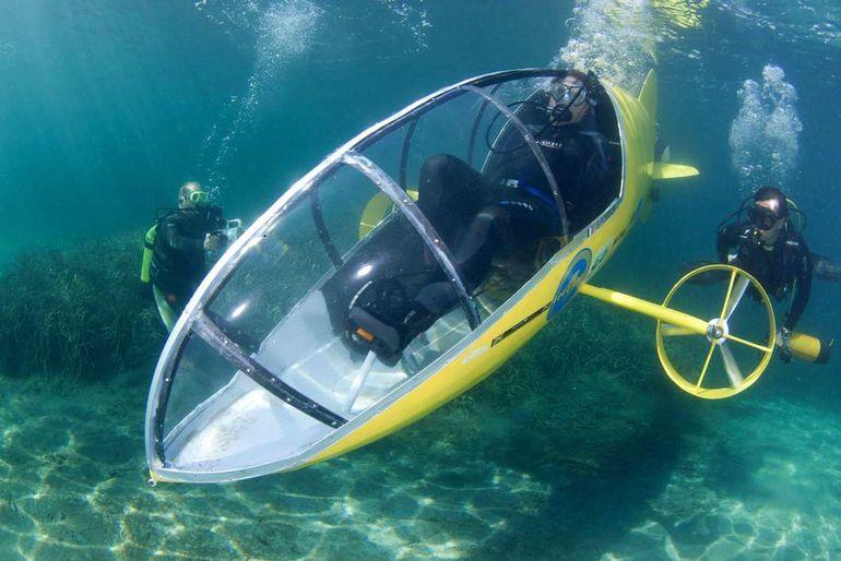как сделать подлодную лодку