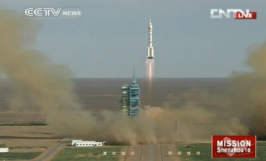 Шэньчжоу-10 отправился на орбиту