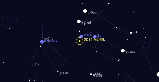 NASA планируют увидеть тень «планеты-карлика»