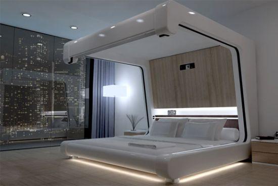 Такие революционные кровати пока