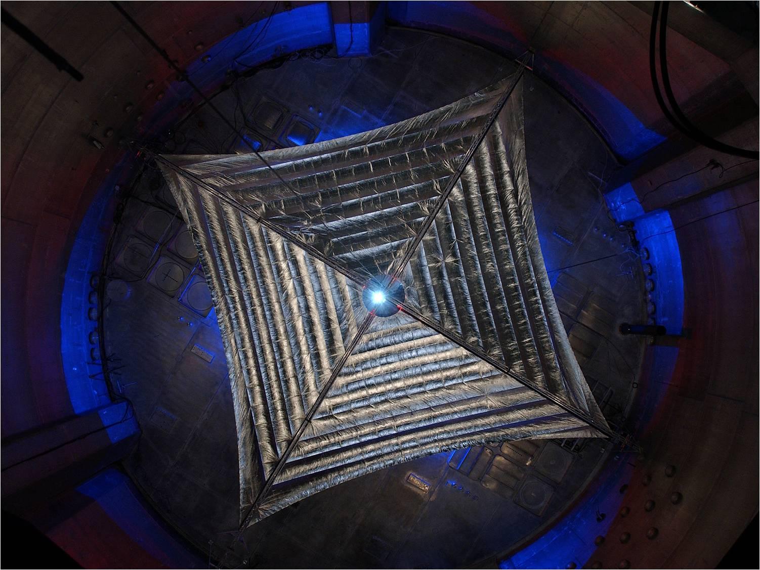 Солнечный парус Sunjammer проходит испытания перед запуском