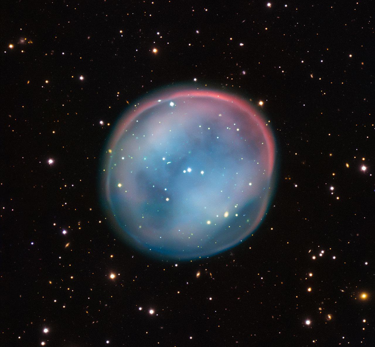 Астрономы показали лик нереального космического существа