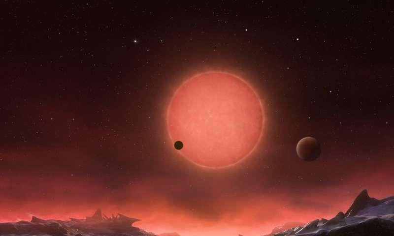 Всозвездии Водолея найдены три потенциально обитаемые планеты