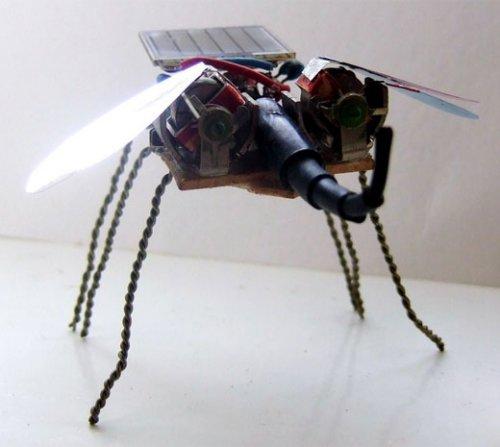 Робот который летает своими руками