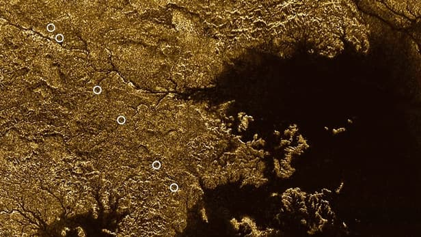 НаТитане обнаружили затопленные каньоны