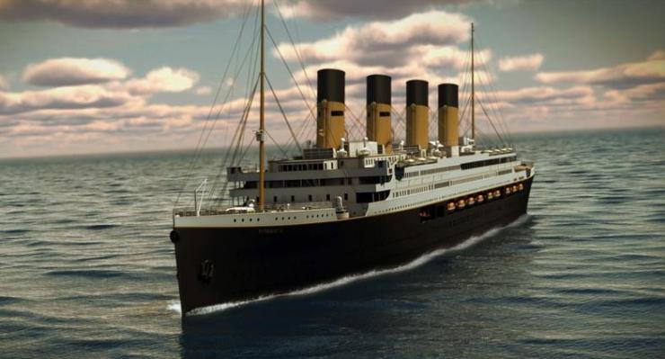 В 2016 году Титаник II отправится в плаванье