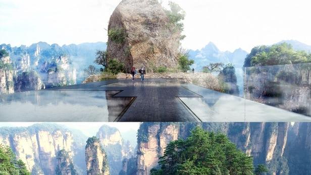 В «Поднебесной»  анонсировали строительство «невидимого» моста за $5 млн