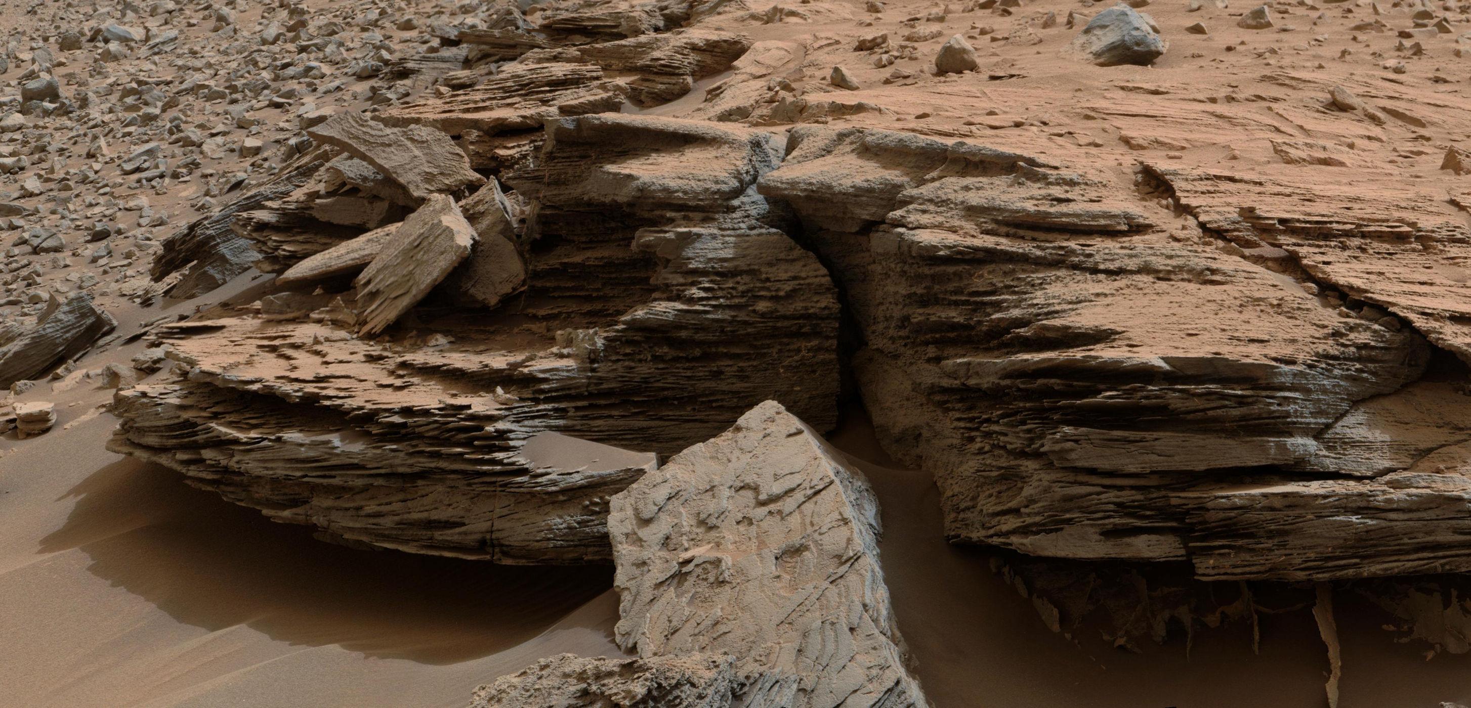 mars landscape materials - HD2907×1400