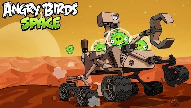«Angry Birds Space (Red Planet)»: свиньи завоёвывают Марс
