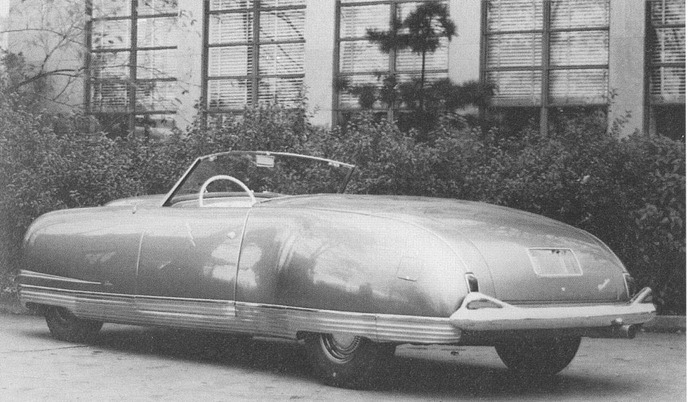 "Chrysler Thunderbolt 1940 года, ""The Car of the Future"""