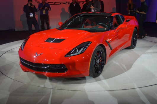 Chevrolet Corvette Stingray 2014 заполучил 460 л.с.